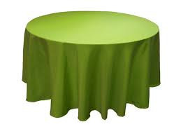 Sage Green - Round Tablecloth – Poly – 120""