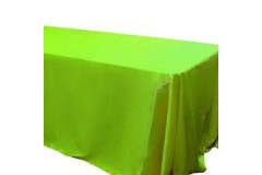 "Sage Green – Rectangle - Tablecloth – Satin – 90""x156"""