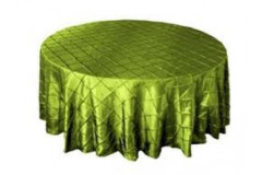 Sage Green – Round - Tablecloth – Pintuck - 120""