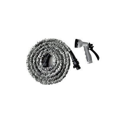 expanding garden hose with nozzle picture 1
