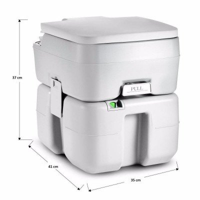 outdoor portable toilet with carrying bag picture 2