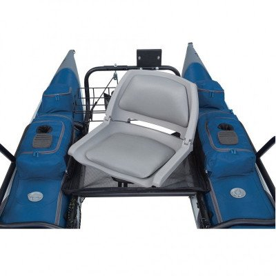 inflatable fishing pontoon boat picture 3