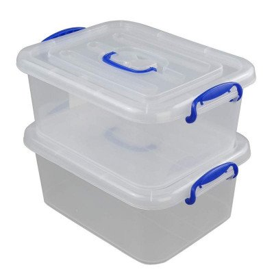 plastic ultra latch storage box with seal-1