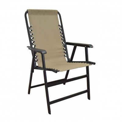 suspension folding chair