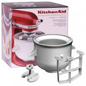stand mixer - ice cream maker attachment