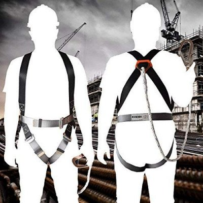 Full body adjustable safety harness picture 2