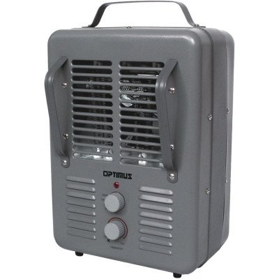 portable utility heater with thermostat picture 1
