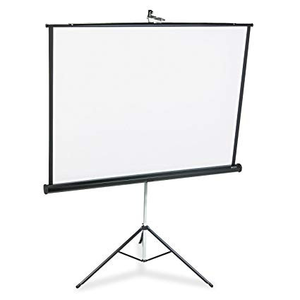 Tripod Screen (5ft) - Projection Screen - 60x60