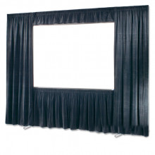 Full Drape Dress Kit for Screen- Black Velour