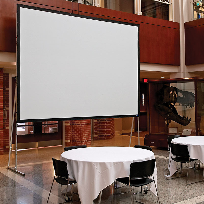 "Draper 10""x10"" Fast Fold Screen - Front or Rear Projection Available"
