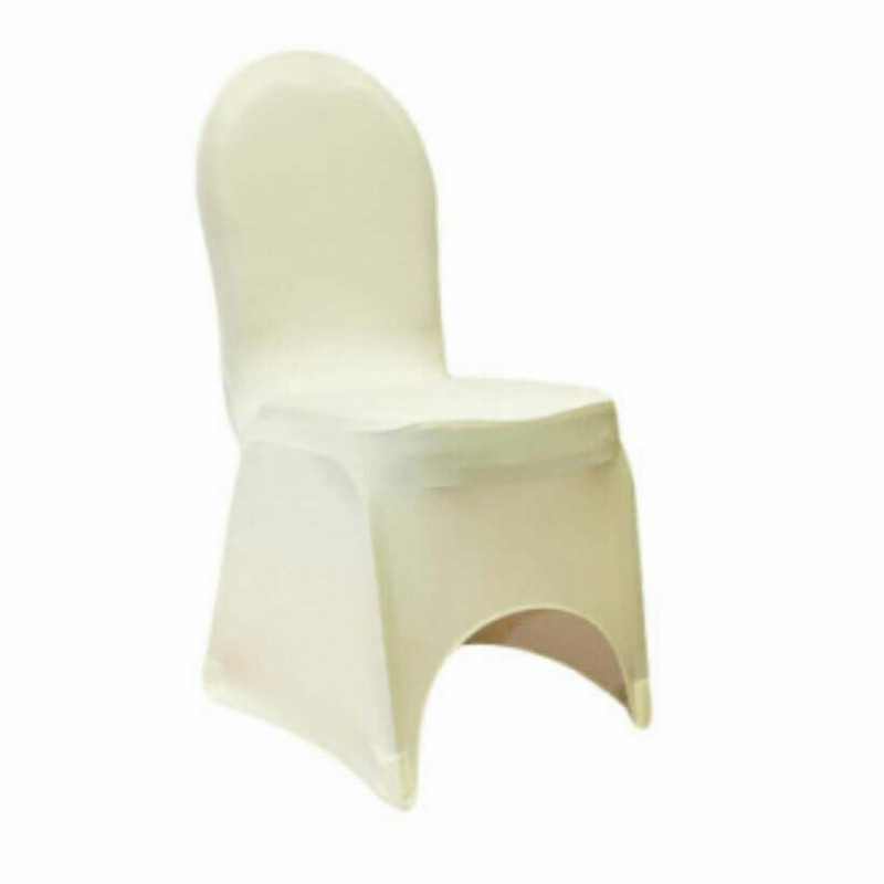 Ivory - chair cover - spandex