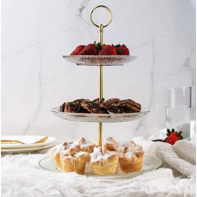 3-tiered serving stand picture 1