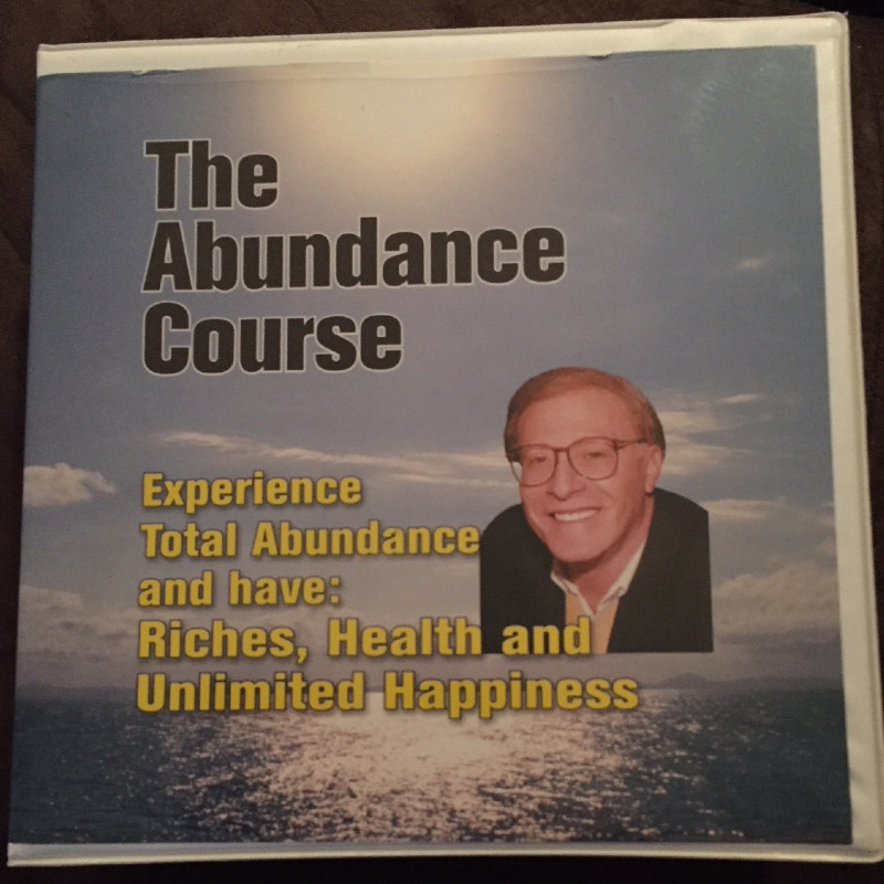 THE ABUNDANCE COURSE by Lawrence Crane book & CD set