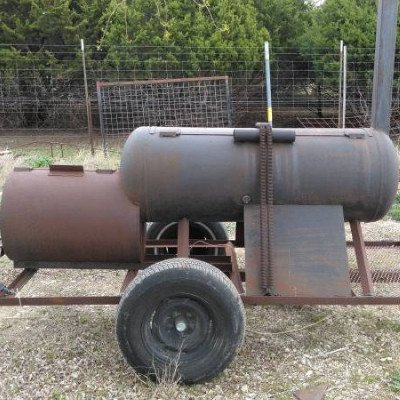 BBQ Smoker Trailer picture 1