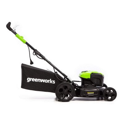 corded electric lawn mower picture 2