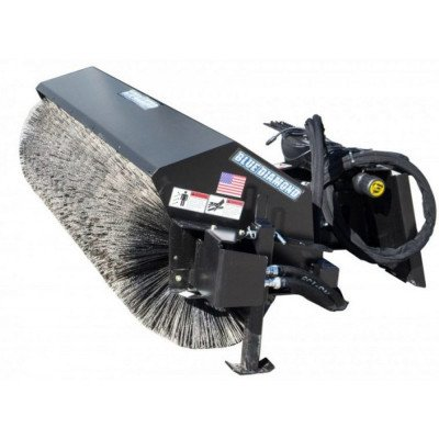Broom with Bucket Attachment for Skidsteer picture 1
