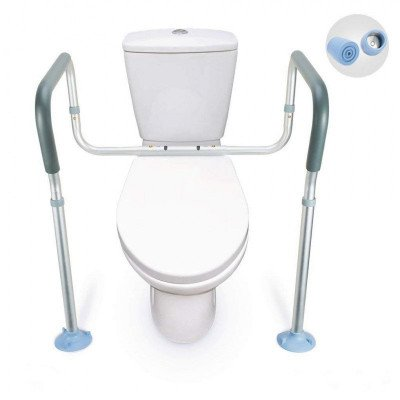toilet rail - bathroom safety frame picture 1