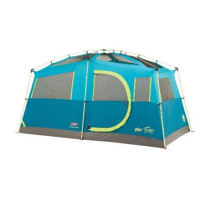 8 person fast pitch instant cabin camping tent picture 2
