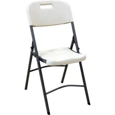 white plastic indoor outdoor folding chair picture 1