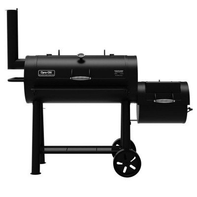 charcoal offset smoker picture 1