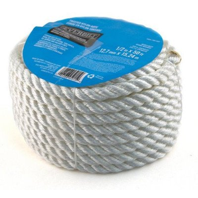 50 ft nylon twisted rope picture 1