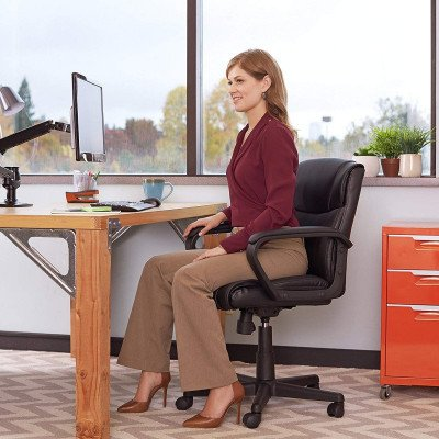 padded office chair picture 1
