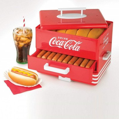 nostalgic Coca-Cola Hot Dog Steamer picture 4