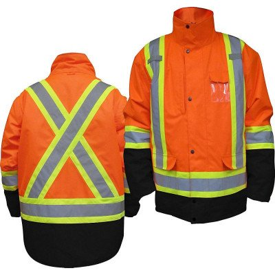 High visibility parka picture 1