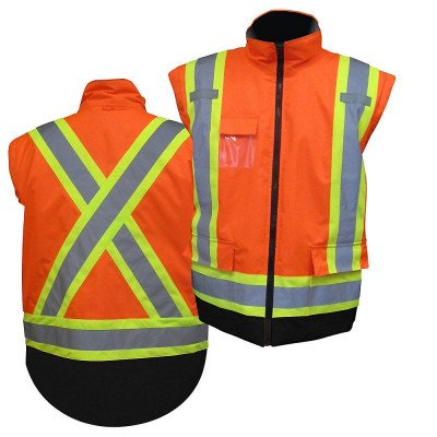 High visibility parka picture 2