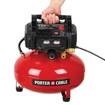 portable electric pancake air compressor picture 2