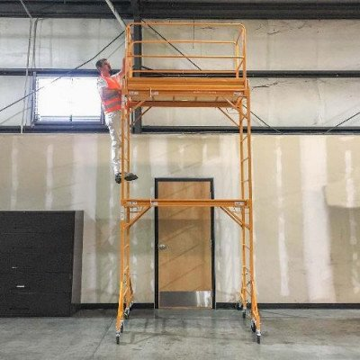 2-story rolling scaffold tower picture 2