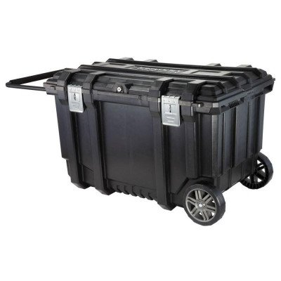 mobile job box utility cart black picture 1