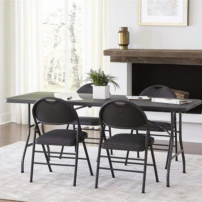 half blow molded folding table picture 1