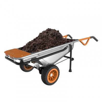 worx aerocart wheelbarrow picture 1