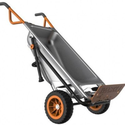 worx aerocart wheelbarrow picture 2