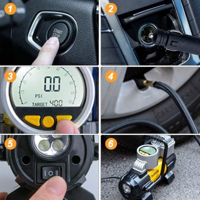 Digital Car Air Pump picture 6