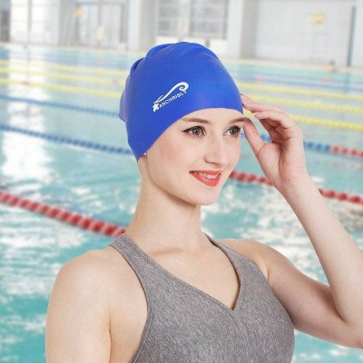 swim cap picture 1