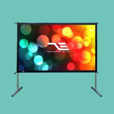 """120"""" Outdoor Projector Screen picture 1"""