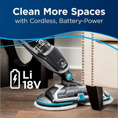 Bissell SpinWave Cordless Powered Mop picture 2