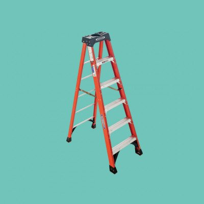 Werner 6ft Ladder 300lb Load Capacity picture 1