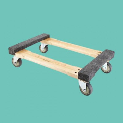 Milwaukee 1000lb 4-Wheel Wood Dolly picture 1
