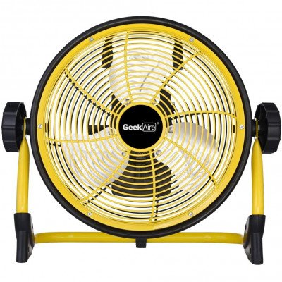 "Portable Rechargeable Fan - Geek Aire 10"" picture 1"