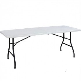 6 ft Folding table with carrying handle