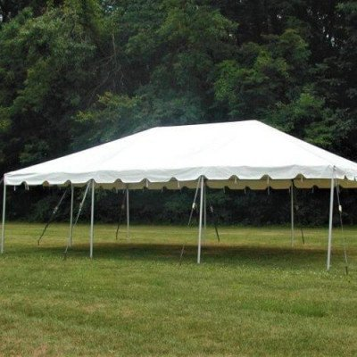 Tent, 20 X 30 Frame, White picture 1