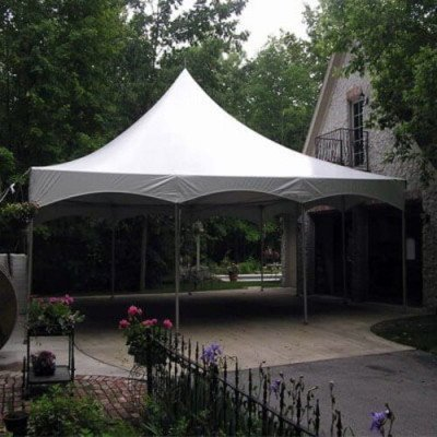 Tent, 30 X 30 Tension, White picture 1