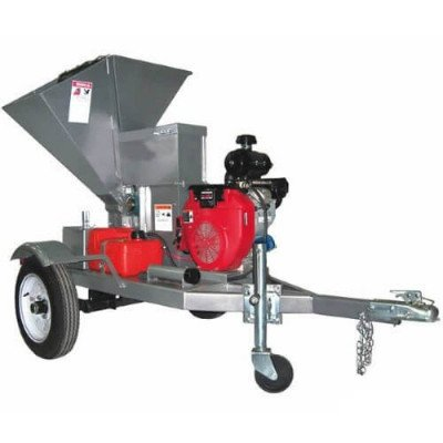 "Brush Chipper, 6"" Auto Feed picture 1"