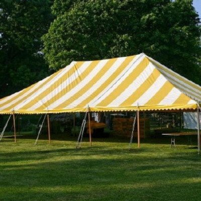 Tent, 40 X 60 Pole, Y-W picture 1
