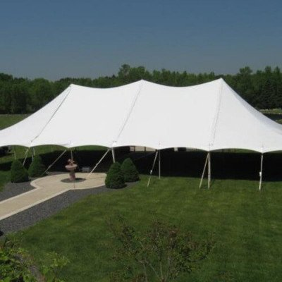 Tent, 40 X 60 Tension, Wedding White picture 1