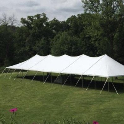 Tent, 30 X 105 Tension, White picture 1