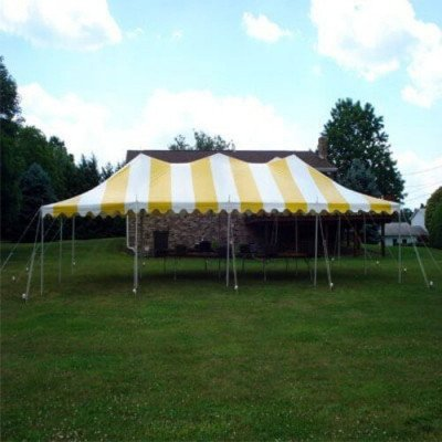 Tent, 40 X 80 Pole, Y-W picture 1